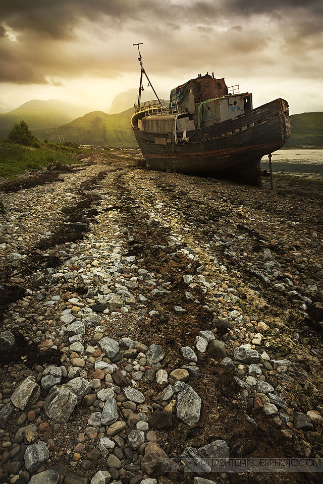 Abandoned - Shipwreck, Corpach, Scotland