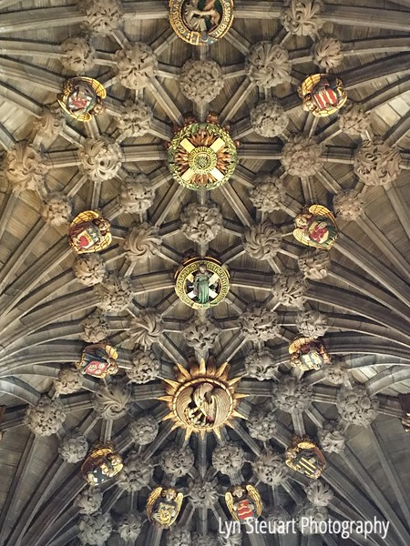 Ceiling of the Thistle Chapel St St. Giles Cathedral
