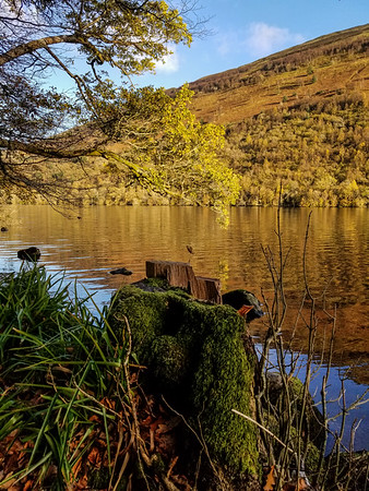 Fall Colors on Loch Oich