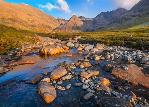 The Skye Cuillin from Glen Brittle