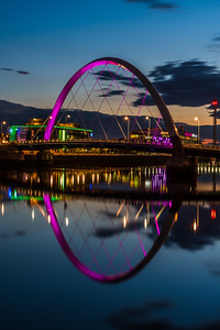 The Clyde Arc in Glasgow.