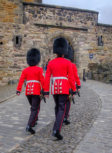 Beefeaters in Edinburgh
