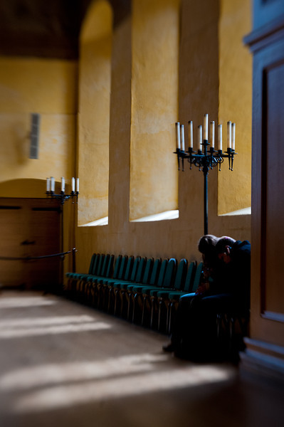 The chapel at Stirling Castle.