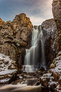 Wailing widow falls, Scotland