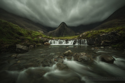 The Dark Knight - Fairy Pools, Isle of Skye, Scotland