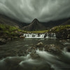 Brooding skies give evidence to the always changing weather on the Isle of Skye in northern Scotland.