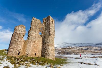 Ardvreck Castle ruins, Scotland