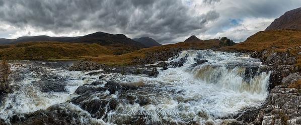 Strathfarrar Waterfall