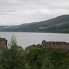 Urquhart Castle....in ruins on the edge of Loch Ness