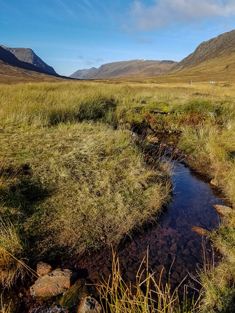Stream in Glen Coe