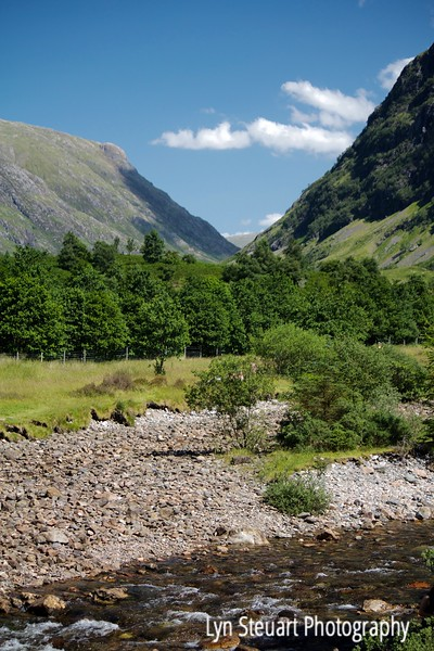 River Coe in Glencoe at the site of the Glencoe Massacre