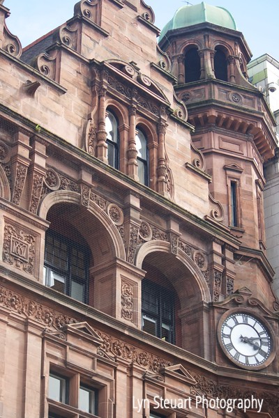 Glasgow - amazing architecture in this city and lots of clocks!