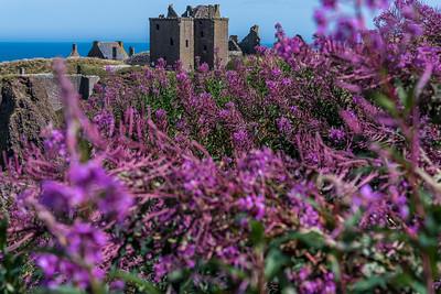 Dunnottar Castle in Stonehaven.