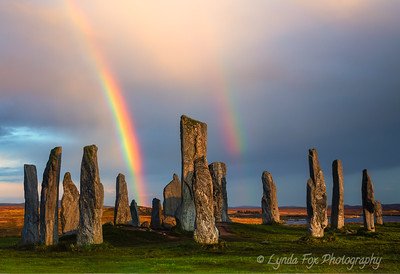 Rainbows Over Calanais Stones
