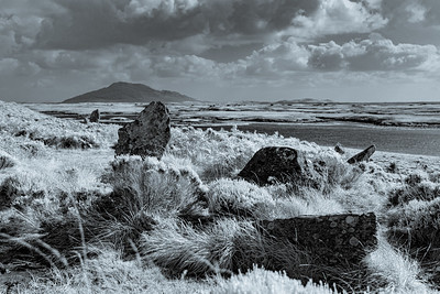 Phobull Fhinn Stone Circle, North Uist