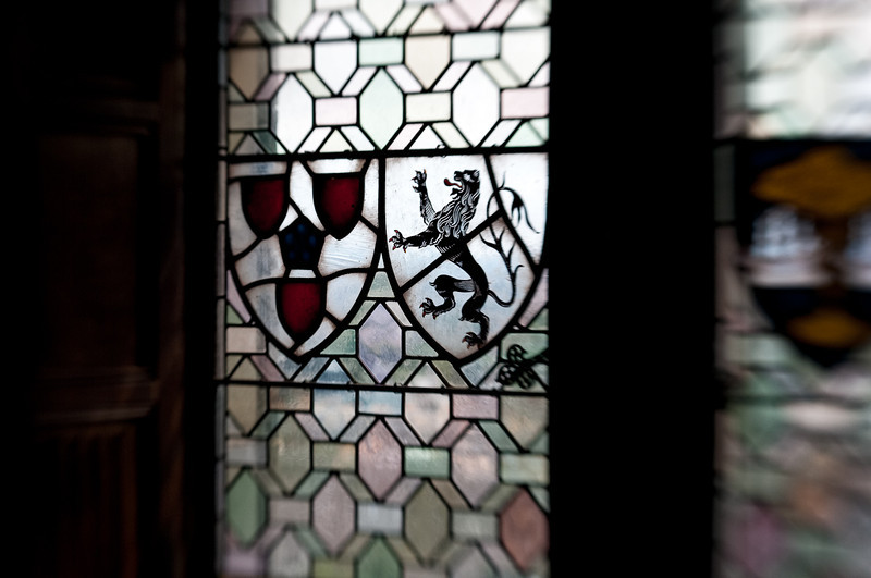 Royal emblems were emblazoned everywhere including the Chapel.