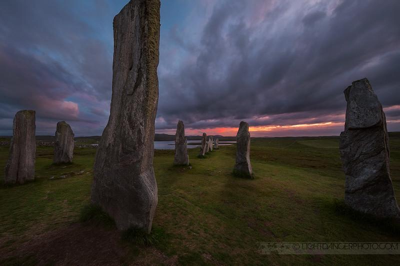 Callanish Standing Stones, Lewis Island, Scotland