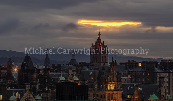 St Giles and the Rooftops, Edinburgh