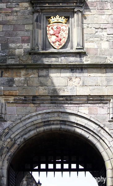 Entrance & portcullis to Edinburgh Castle