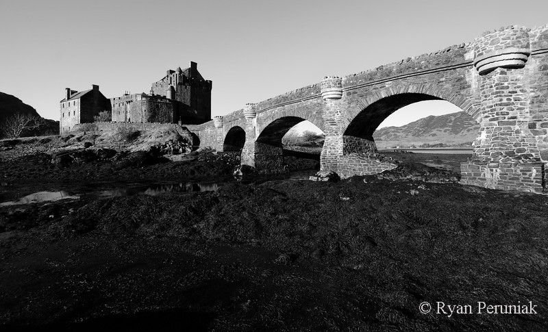 Photo: Just another ancient castle on the coast.