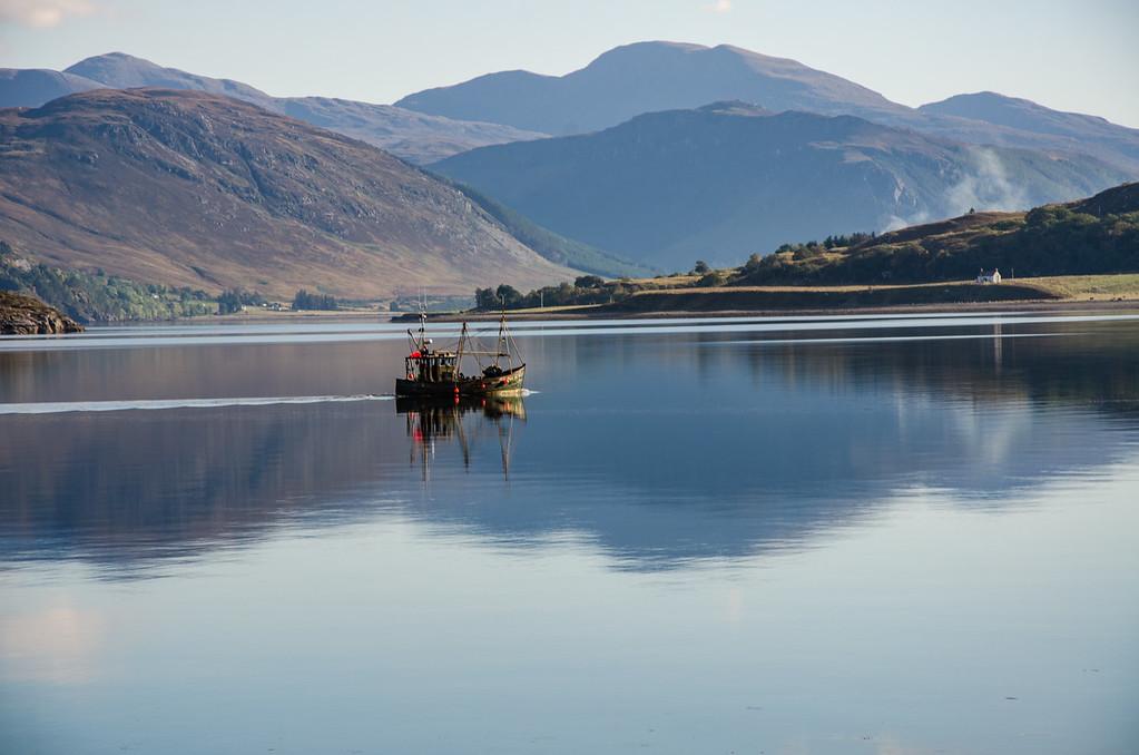 Ullapool fishing boat