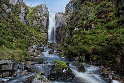 Allt Chranaidh Waterfall