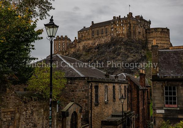 Vennel View to Edinburgh Castle