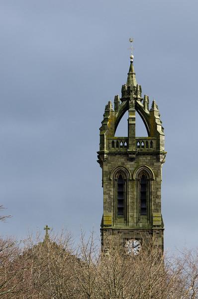 Photo: Old Parish Church, Peebles, Scotland.
