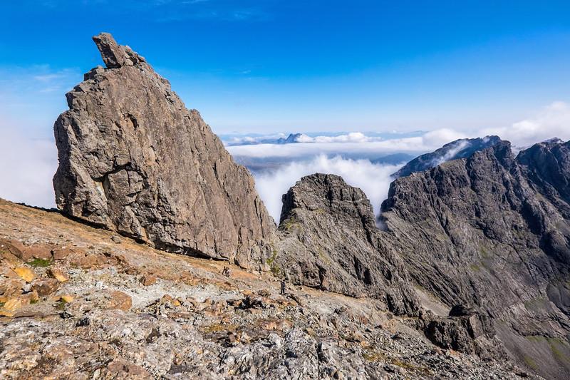 Inaccessible Pinnacle, Isle of Skye