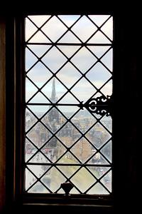 The Royal Mile, Royal Palace, The Edinburge Castle,  Edinburgh, Scotland, United Kingdom