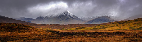 Fresh Snow in the Highlands