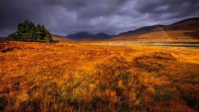 Loch Glascarnoch  near Ullapool - Scotland