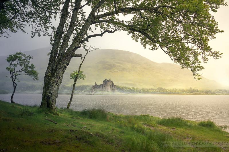 Sunshine & Rain - Kilchurn Castle, Scotland