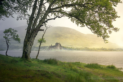 Sunshine & Rain - Kilchurn Castle, Scotland
