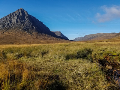 Glen Coe mountainous view