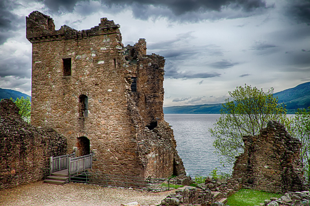 Bridge Into The Past – Urquhart Castle