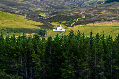 Corgarff Castle in Cairngorm National Park.