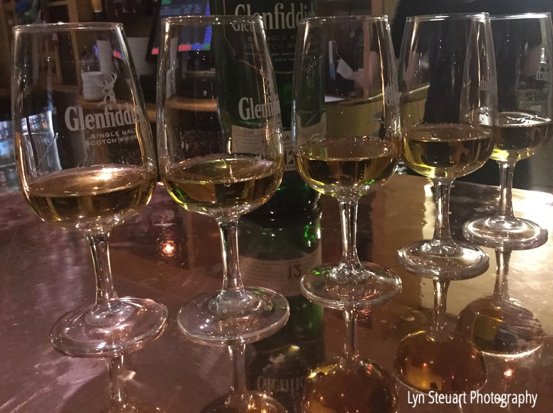 Whisky Tasting at the Piper Tryst Hotel in Glasgow