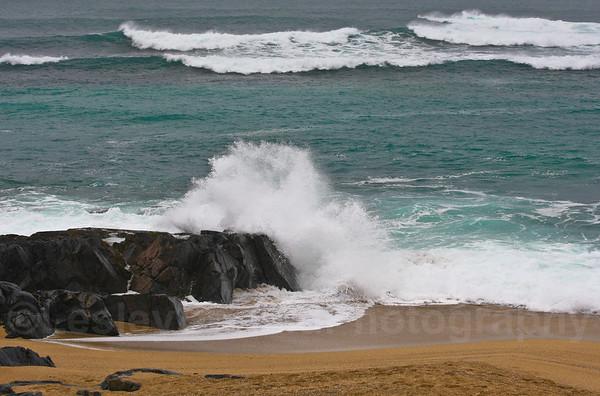 Galeforce winds on Harris