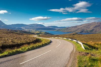Part of Scotland' North Coast 500