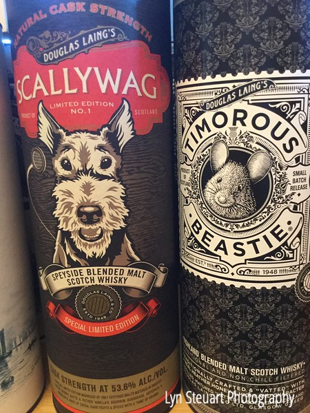 Scots love their whisky and I enjoyed the labels!!!