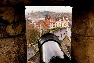 The Edinburge Castle,  Edinburgh, Scotland, United Kingdom