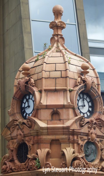 Glasgow - love the sculpture, clocks, architecture in the city and amazing where plants will grow!!!