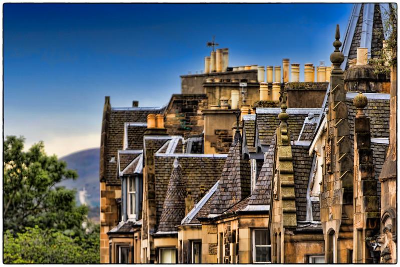 Rooftops, Edinburgh, Scotland