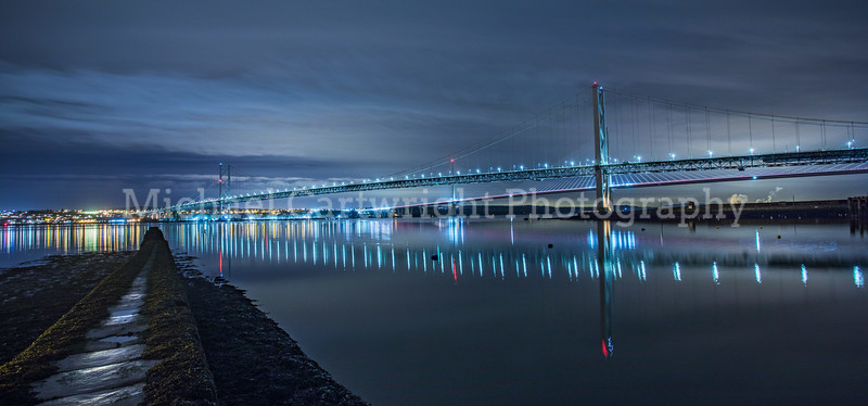 Forth Road Bridge and the Queensferry Crossing