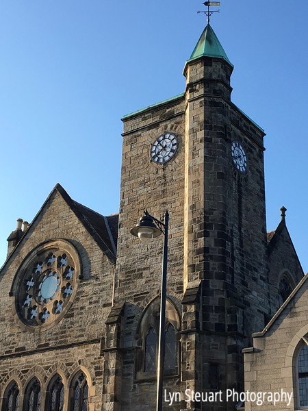 Clock tower in Stirling