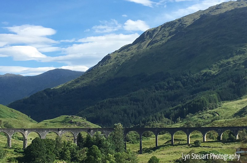 Gelnfinnan Viaduct known in the Harry Potter books and that Hogwart's Express travelled over on the way to Hogwart's School of Wizardry