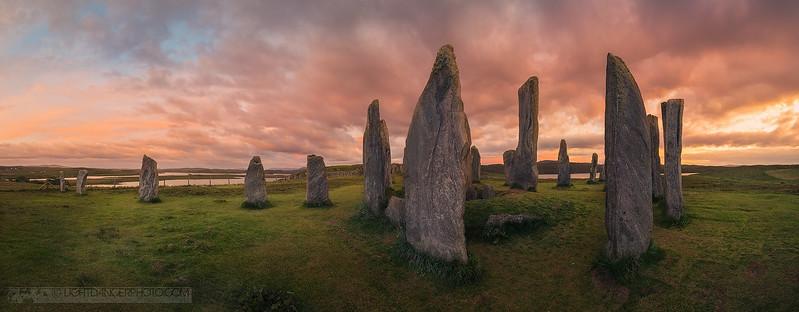 Callanish Stones Panorama