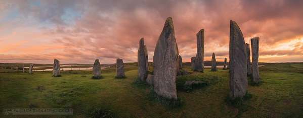 Callanish Stones Panorama