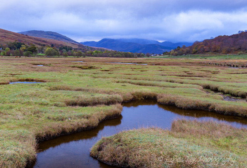 Water Streams Over Highlands